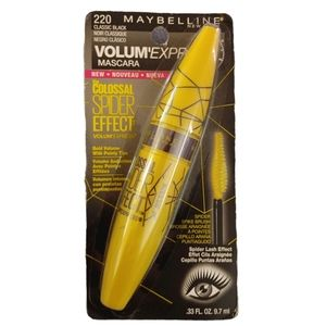 New Maybelline Colossal Spider Effect Mascara
